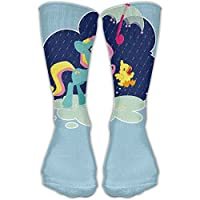 Women Men Classics Socks Unicorn Umbrella Athletic Stockings 30cm Long Sock One Size