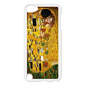 HXYHTY Customized Print The Kiss Pattern Hard Case for iPod Touch 5