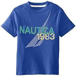 Nautica Little Boys' 1983 Logo Tee 2