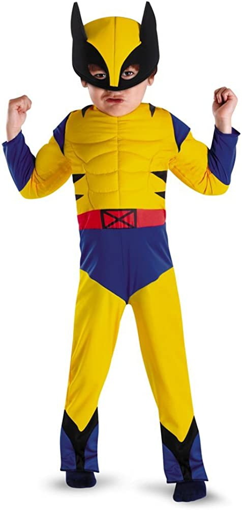 Wolverine Toddler Muscle Costume - Toddler Costume