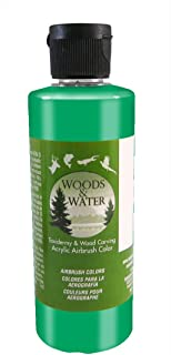 product image for Badger Air-Brush Co. 16-Ounce Woods and Water Airbrush Ready Water Based Acrylic Paint, Opaque Green
