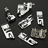 1 X MECO(TM) 32pcs Domestic Sewing Machine Presser Foot Set For Janome Brother Singer NewHome