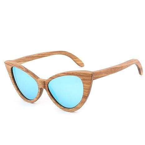 Gafas Gafas Hechas a Mano Gafas de Sol de Madera Coloridas ...