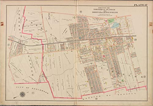Reprinted 18 x 24 1912 Map of Philadelphia, Pa. A new and correct North America with the West India Islands divided according to the last Treaty of Peace, concluded at Paris the 20th of Jan. 1 0 0 30a by Vintography