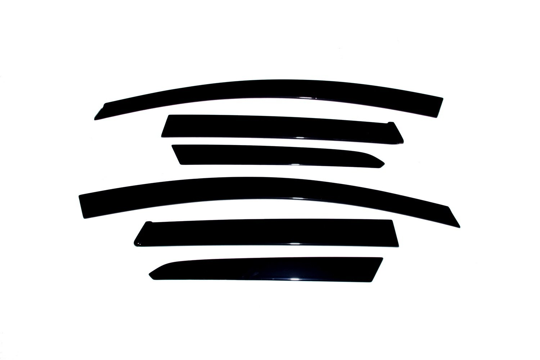Auto Ventshade 896005 Seamless Ventvisor, 6 Piece