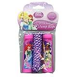 Disney Princess Belle, Aurora, Rapunzel, Ariel Pink Jump Rope