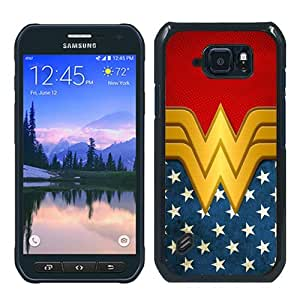 Hot Sale Samsung Galaxy S6 Active Case ,Unique And Durable Designed Case With Wonder Women black Samsung Galaxy S6 Active Cover Phone Case
