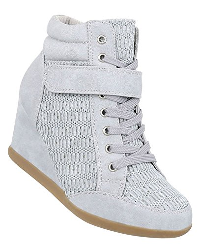 Damen Freizeitschuhe/Wedge Sneakers/Damenschuhe/Versteckter Keilabsatz/Freizeitschuhe/Pink/Rosa, EU 40