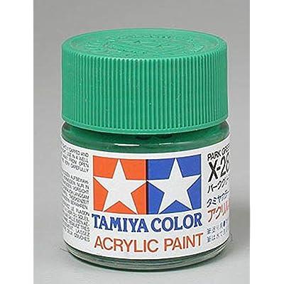 Tamiya America, Inc Acrylic X28 Gloss, Park Green, TAM81028: Toys & Games