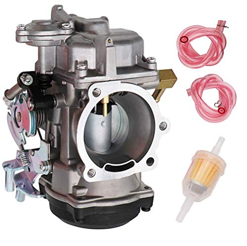 (883 Carburetor Replace 27421-99C 27421-99A 27490-04 27465-04 for Harley Davidson Sportster 40mm CV 40 XL883 Carb by TOPEMAI )