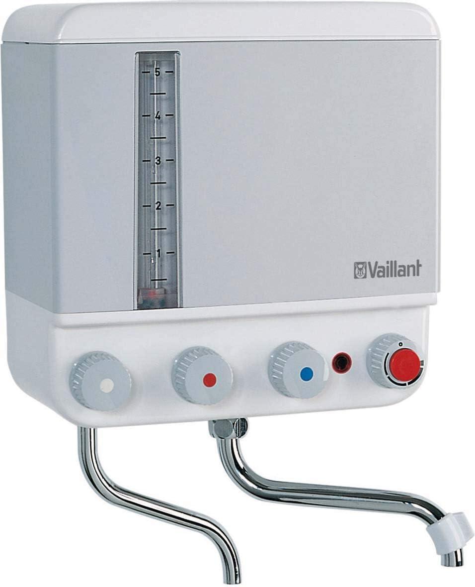 Vaillant Kochendwassergerät VEK 5 S braun beige Elektro mit Armatur wandhängend