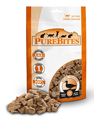 Duck Purebites (PureBites Duck for Cats, 1.05oz / 30g - Value Size)