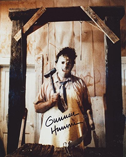 Gunnar Hansen as Leatherface (The Texas Chainsaw Massacre) Autograph