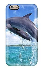 Diycase AmandaMichaelFazio Iphone 6 plus Well-designed case cover ZL4Dl6 pluswQi0E Dolphins Protector
