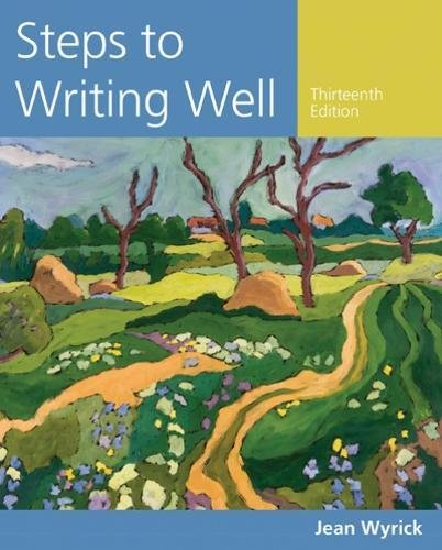 Steps to Writing Well (Wyrick's Steps to Writing Well Series)