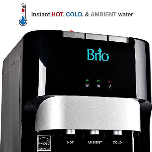 Brio Essential Series Bottom Load Hot, Cold & Room Water Cooler Dispenser - 3 Temperature Modes for Home or Office - UL / Energy Star Approved. by Brio (Image #6)