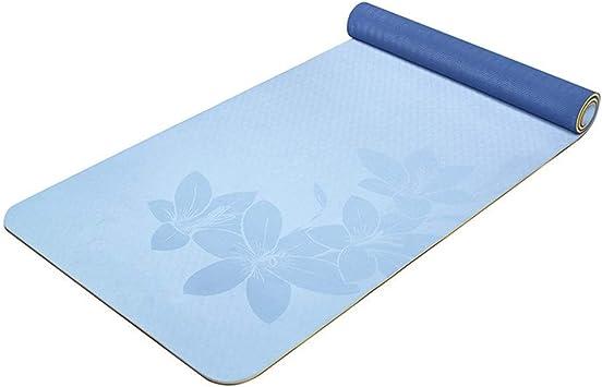 Antideslizante Esterilla para Yoga y Fitness de Kuingbhn