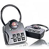 Tarriss TSA Lock with SearchAlert (2 Pack)