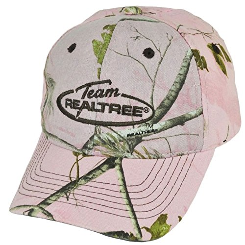 Team Realtree Camo (Ladies Team Realtree APC Pink Camo Hunting Hat / Cap - NEW!)
