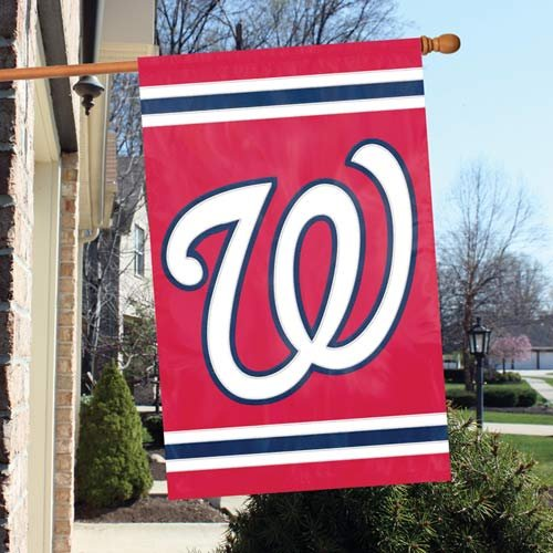 Party Animal Official Major League Baseball Fan Shop Authentic MLB Team Sports Man Cave Flag - Banner (Washington Nationals)