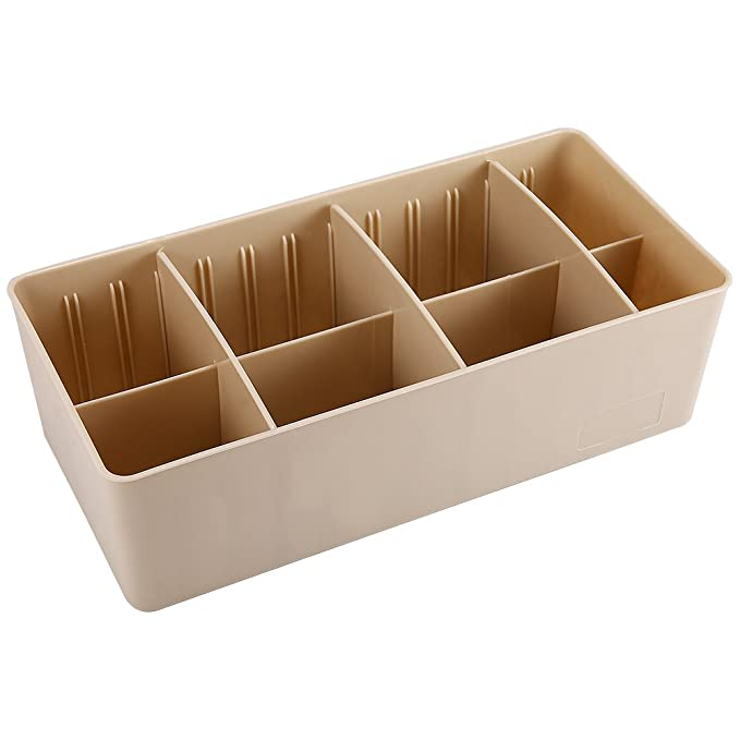 Zantec Caja de plástico organizador de almacenamiento con separadores extraíbles Joyas Earring Tool Containers: Amazon.es: Hogar