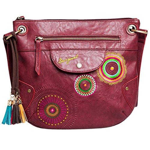DESIGUAL 57X50X9-3073 BOLS BROOKLYN AUDREY Damen Handtasche, Umhängetasche, menorca, 30x27x3 cm (BxHxT)