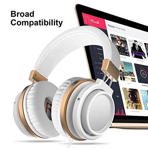 Ailihen MX-06 Over Ear Headphones with Micropho...
