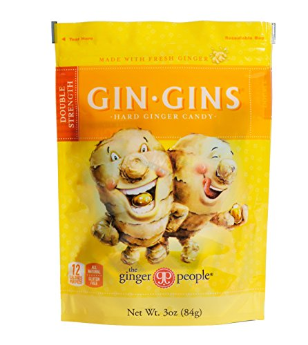 Ginger People Candy Bag, 3 oz - Gins Ginger Candy Gin