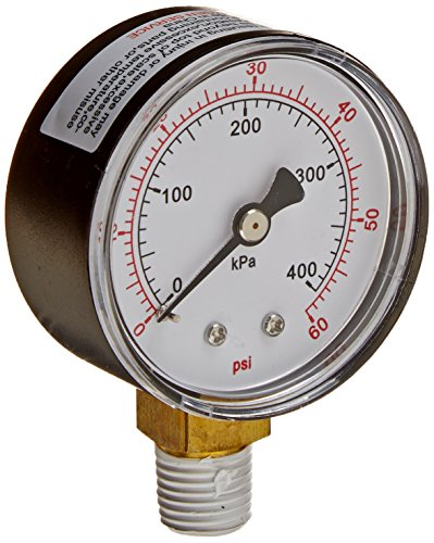 (Pentair 15060-0000T Pressure Gauge Replacement Pool/Spa Filter, Cleaners and Valve)