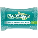 Neat Cheeks Stevia Flavored Face Wipes