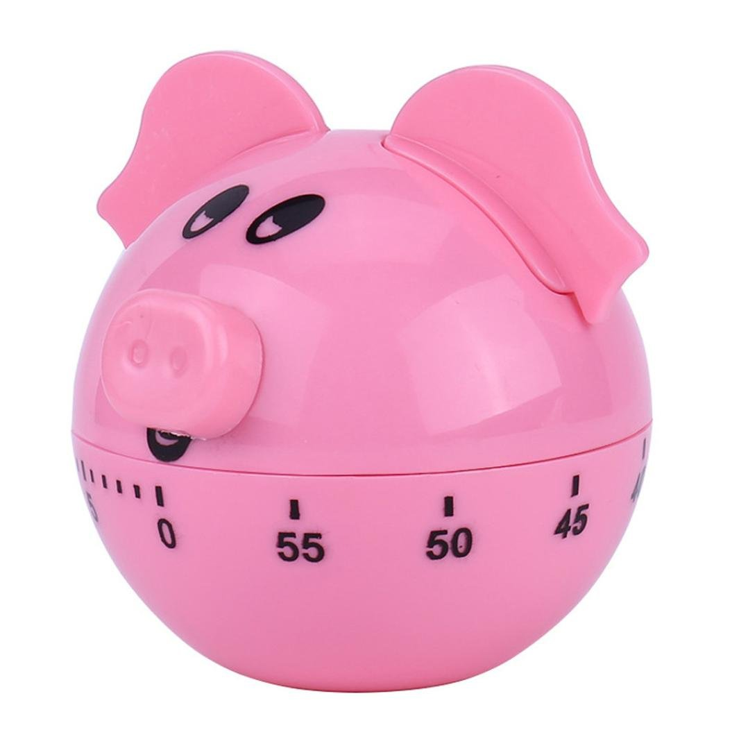 JDgoods Kitchen Timer 60 Minute Mechanical Timer Game Count Down Counter Alarm Kitchen Cooking