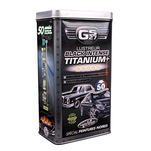 GS27 CL160250 - Cofanetto Vernice lustrante Lustreur Titanium, Colore: Nero Intenso SAS GS27