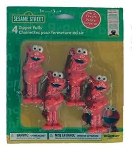 Elmo Zipper Pulls (4 count)