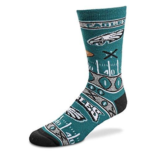For Bare Feet Super Fan Socks - Philadelphia Eagles