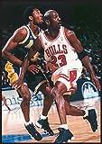 Chicago Bulls - Michael Jordan & Lakers - Kobe Bryant -Poster '24 X 34'