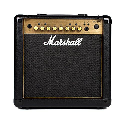 - Marshall Amps Guitar Combo Amplifier (M-MG15GFX-U)