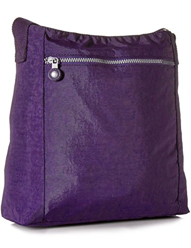 Vivid Purse Nylon Multi 1301 Oakarbo Crossbody Pocket Shoulder Travel Bag Violet qOawz4