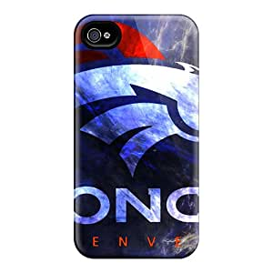 Shock Absorption Cell-phone Hard Cover For Iphone 6 (dWa7623mVYR) Customized Vivid Denver Broncos Pictures