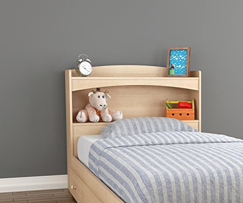 Alegria 5614 Twin Size Headboard from Nexera, Natural Maple by Nexera (Image #4)