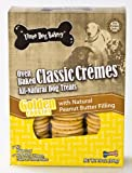 Three Dog Bakery Classic Creme Golden with Peanut Butter Filling, Baked Dog Treats, 16-Ounce, My Pet Supplies