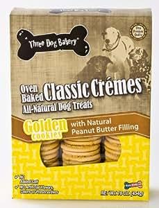 Amazon.com : Three Dog Bakery Classic Creme Golden With
