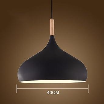 LighSCH Lámparas colgante De Araña Vintage Retro American rústicas de madera nórdica luz minimalista Salón Industrial