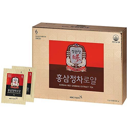 KGC CheongKwanJang Korean Red Ginseng Extract Tea Royal (3 Gram x 100 Pouches) / Ginseng 42%