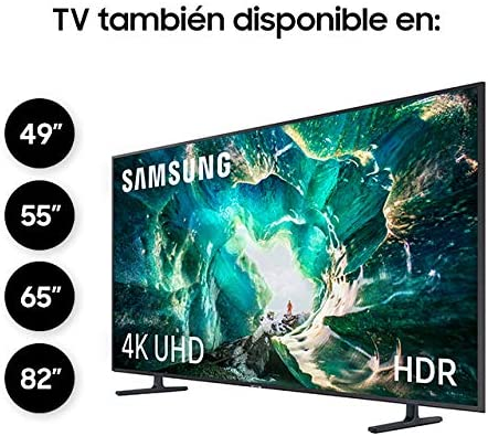 Samsung UE49RU8005, Smart TV con Resolución 4K UHD, Wide Viewing Angle, HDR (HDR10+), Procesador 4K, One Remote Control, Apps en Exclusiva y Compatible con Alexa, Ethernet, 49: Amazon.es: Electrónica