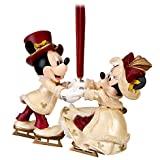 Disney Victorian Minnie and Mickey Mouse Christmas Ornament - Disney Theme Parks Exclusive & Limited Availability