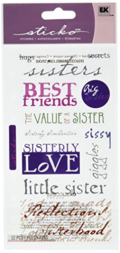 Sticko Phrase Cafe Stickers-Sisterly Love