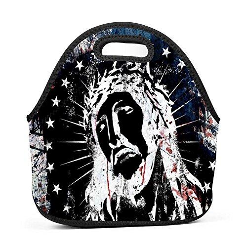 - Ikon-eei Fashion Jesus Reusable Portable Multifunction Lunch Bags