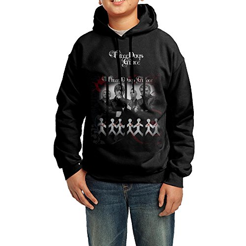 Crazy Cool Kids Comfortable & Warm Unisex Youth Hoodie Sweatshirts---Three Days Grace One X Logo