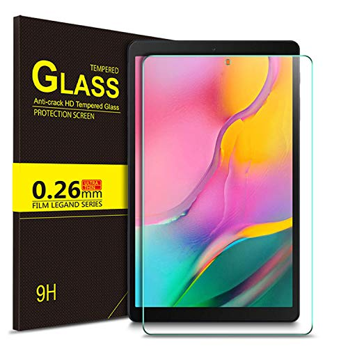 IVSO Screen Protector for Samsung Galaxy Tab A 10.1 2019,No-Bubble 9H Hardness Tempered Glass Screen Protector for Samsung Galaxy Tab A 10.1 Inch SM-T510,SM-T515 2019 Release Tablet