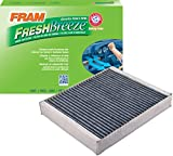 fram cabin air filters - FRAM CF10775 Fresh Breeze Cabin Air Filter with Arm & Hammer
